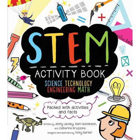 STEM Activity Book: Science Technology Engineering Math : Packed with Activities and Facts (Halloween Maths Activity Sheets)