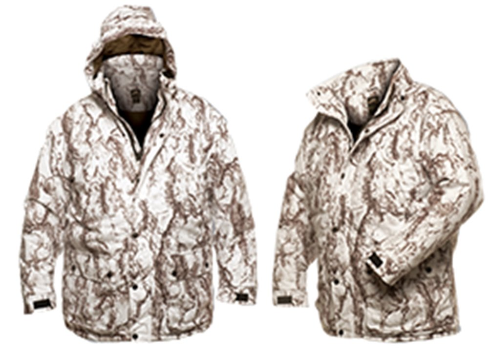 Natural Gear Waterproof Insulated Parka Snow Camo 2Xlarge by Natural Gear