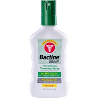 6 Pack Bactine Pain Relieving Cleansing Spray, 5oz