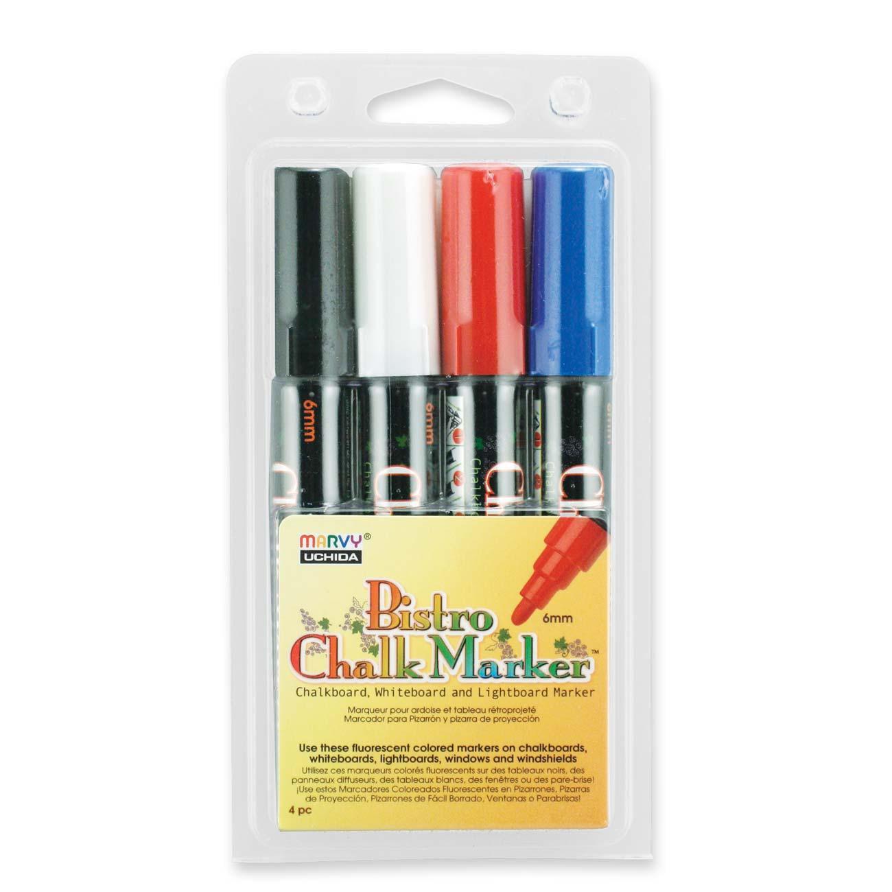 Marvy Chalkboard and Lightboard 4-Color Set C