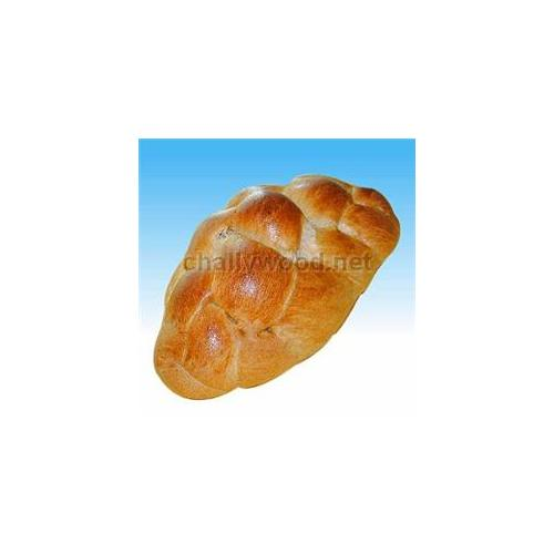 Challywood TR-20 Medium Braided Whole Wheat Challah - Pack of 2