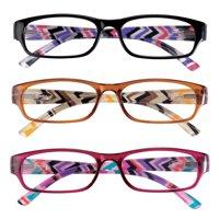 3 Pack Women's Reading Glasses