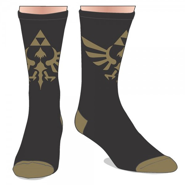 Nintendo Zelda Sublimated Crew Socks