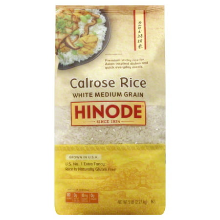 Hinode Calrose Medium Grain Rice - 5lb