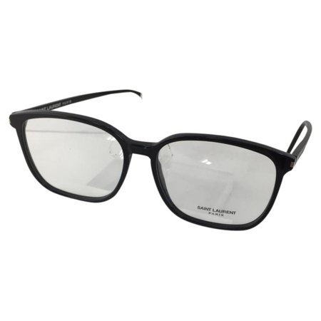 Saint Laurent SL 107 001 Black Plastic Eyeglasses 58mm