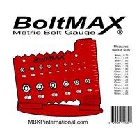 BoltMAX Metric Bolt & Nut Measuring Gauge