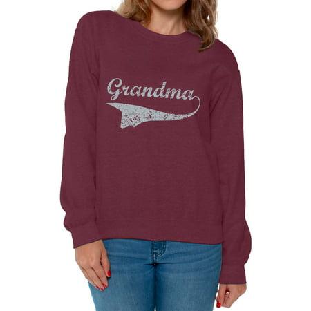 Awkward Styles Women's Grandma Graphic Sweatshirt Tops Vintage Mother's Day Gift ()