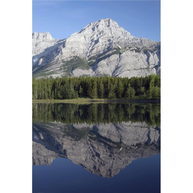 Wedge Pond Mount Kidd Kananskis Country Alberta Canada Poster Print, 12 x 19 - image 1 of 1