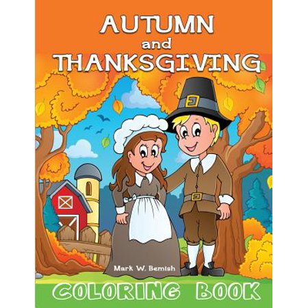Autumn and Thanksgiving Coloring - Autumn Halloween Activities