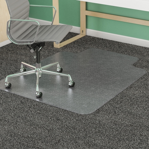 Deflect-O Corporation Medium Pile Carpet Beveled Edge Chair Mat