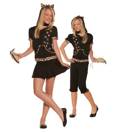Sassy Cat Tween Halloween Costume](Halloween Food Ideas For Tweens)