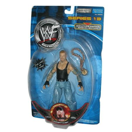 WWE Wrestling The Undertaker Silver Edition Series 13 Jakks Pacific Figure Wwe Jakks Toy Figure