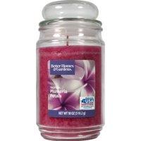 Better Homes & Gardens Tropical Plumeria Petals Single-Wick 18 oz. Jar Candle