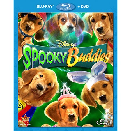 Spooky Buddies (Blu-ray + DVD) - Best Spooky Movies For Halloween
