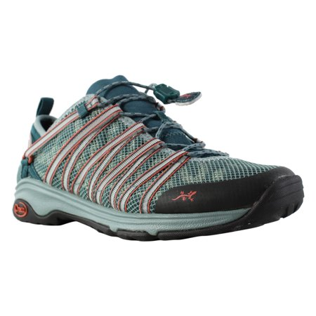 New Chaco Womens Outcross Evo Teal Trail Shoes Size (Best Price On Chacos)