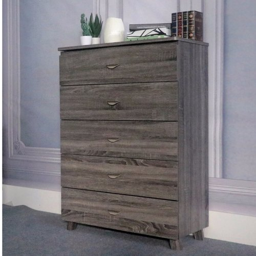 Ivy Bronx Clore Capacious 5 Drawer Chest