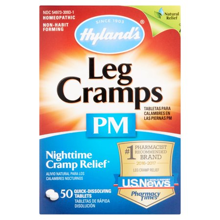 Hylands Leg Cramps Pm With Quinine Tablets 50 Ea