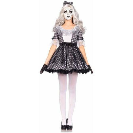 Leg Avenue 3-Piece Porcelain Doll Adult Halloween Costume