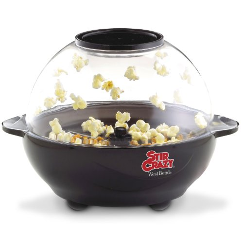 Tostadora West Bend 82306 Stir Crazy 6-Quart Electric Popcorn Popper + West Bend en VeoyCompro.net