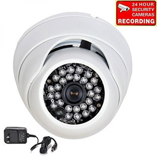 VideoSecu 700 TVL Day Night Vision Outdoor Vandal Proof S...