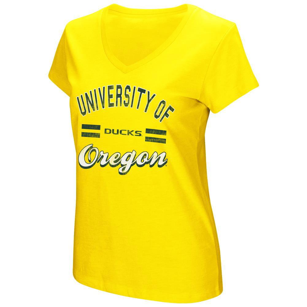 Women's Hurdle Short Sleeve University of Oregon Ducks Graphic Tee