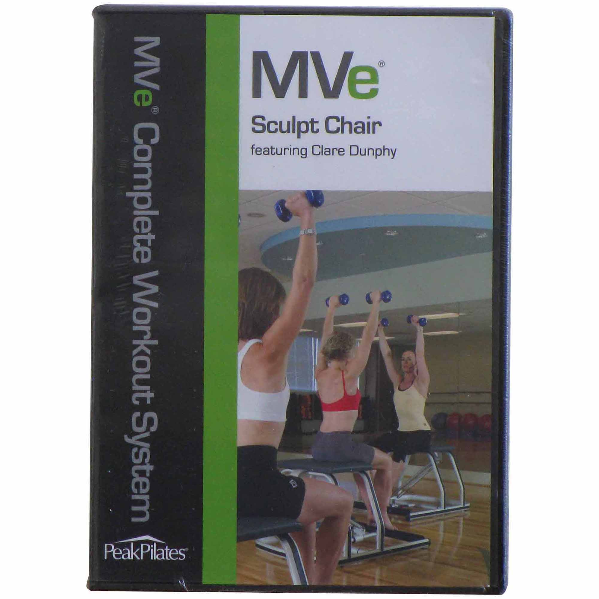 Peak Pilates MVe Sculpt Chair Workout DVD