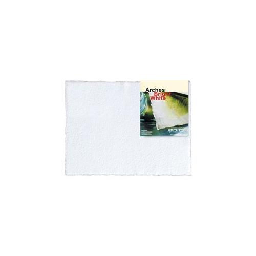 Canson C523-5005 22 inch x 30 inch 640g Arches Watercolor Paper with Rough Sheet - Bright White Pack Of 25