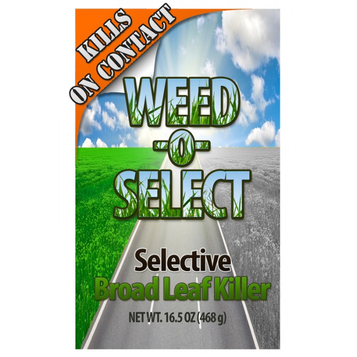 Weed Killer - Weed-O-Select (Aerosol) - Industrial Strength Weed Killer - 12 Cans/Case