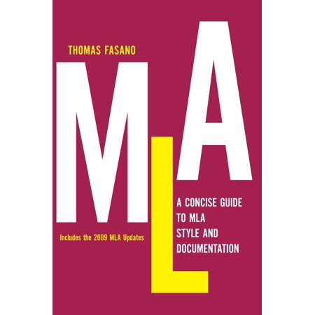 A Concise Guide to MLA Style and Documentation (Hardcover)