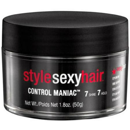Style Sexy Hair Control Maniac Wax, 1.8 oz (Best Hair Styling Wax For Women)