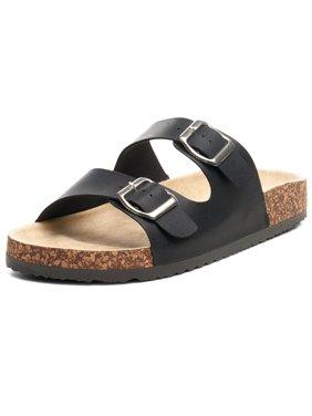 4f632a623 Product Image Alpine Swiss Womens Double Strap Slide Sandals EVA Sole Flat  Comfort Shoes
