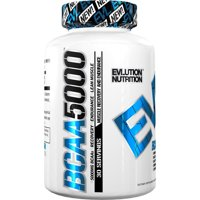 Evlution Nutrition BCAA 5000 Capsules, 30 Servings