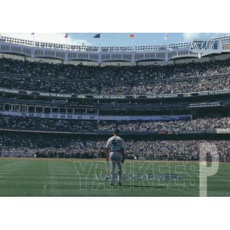 2018 Topps Stadium Club #248 Mariano Rivera New York Yankees Baseball Card - (Mariano Rivera Autographed Baseball)