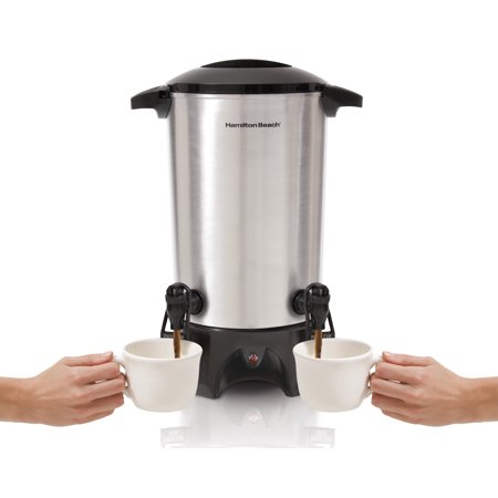 Hamilton Beach® 45 Cup Dual-Spout Coffee Urn | Model# - Tea Dispenser