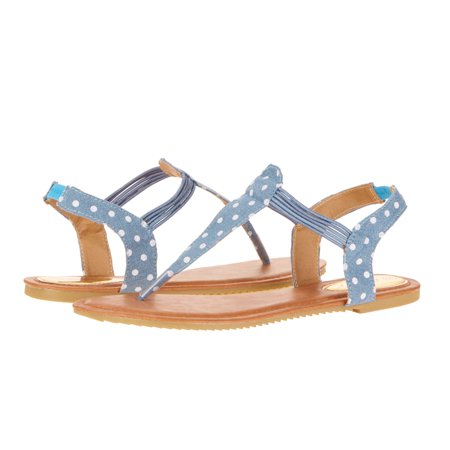 Victoria K Women's Fashion Polka-Dot Sandals
