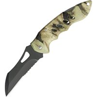 Forest Hunter Camo Folding Knife, Comes with clip By SZCO Supplies