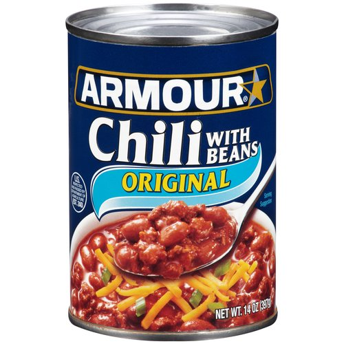 Armour Chili with Beans, 14oz by Pinnacle Foods Group LLC