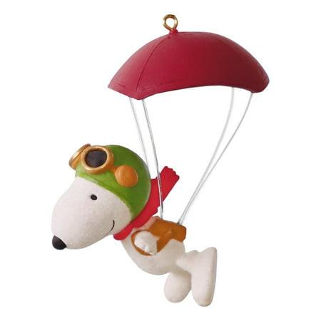 Hallmark Ornament 2016 Paratrooper Snoopy - Snoopy Christmas Ornament