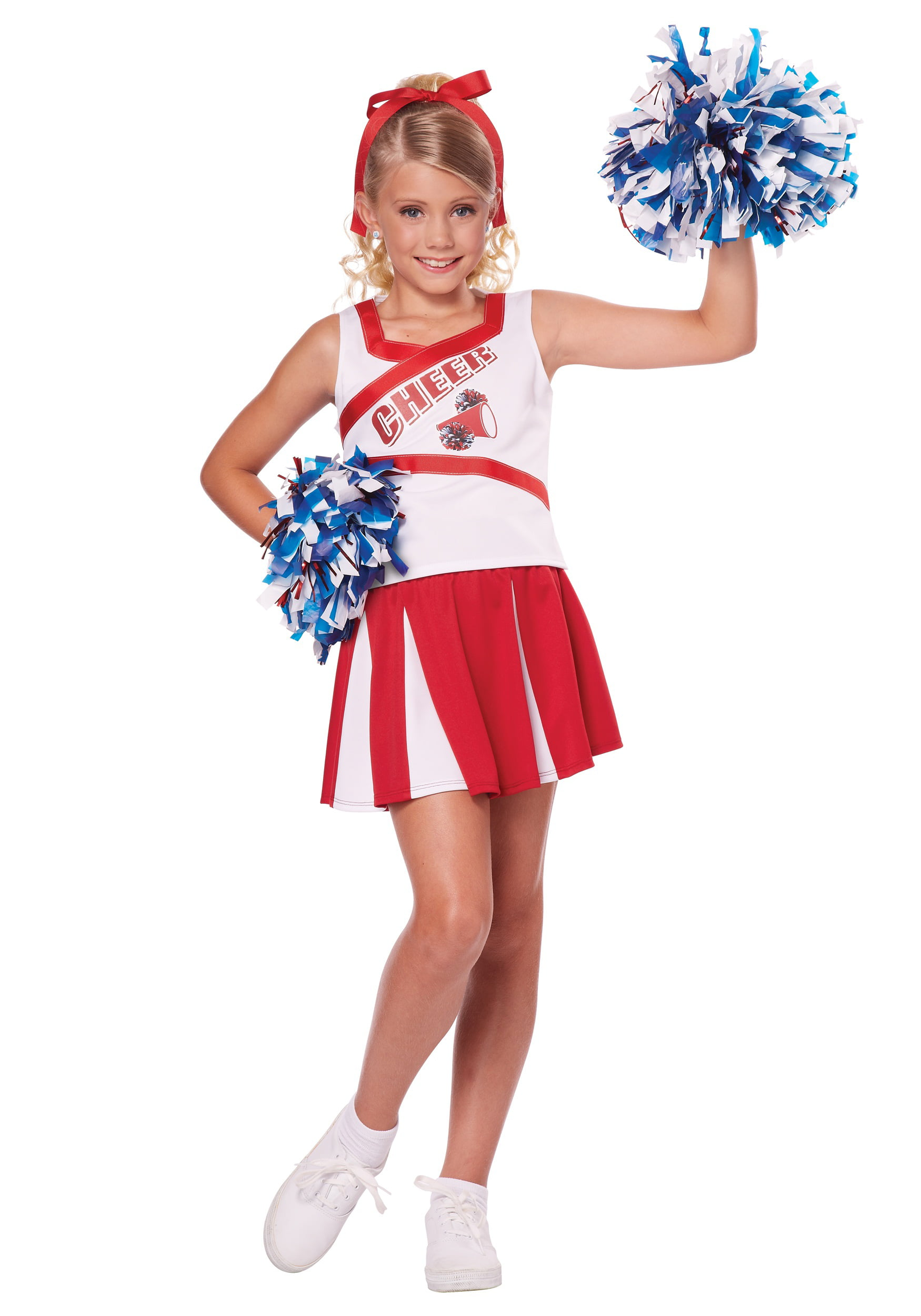 Halloween Outfits For Kids.High School Cheerleader Child Costume