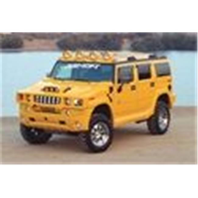 Xenon 11701 Hummer Hummer 2 SUV Models 2003 - 2011 Front Grille Guard Cover