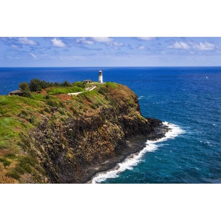 - Kilauea Point Lighthouse, Kilauea National Wildlife Refuge, Island of Kauai, Hawaii, USA Print Wall Art By Russ Bishop