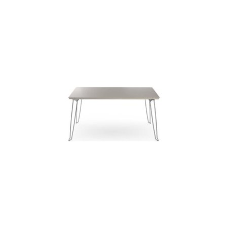 Admirable Aeon Furniture Amanda Coffee Table In Gray And Chrome Pdpeps Interior Chair Design Pdpepsorg