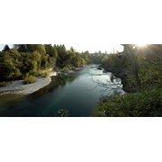Framed Art for Your Wall Cividale Landscape River Sunset Friuli Natisone 10x13 Frame