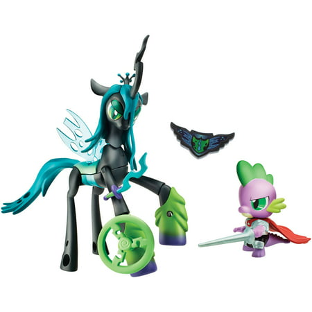 My Little Pony Guardians of Harmony Queen Chrysalis v. Spike the