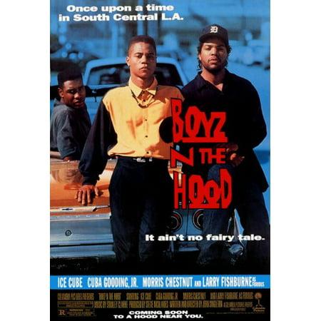 Hood Movie Poster (Boyz N The Hood Movie Poster 24x36)