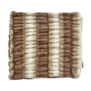 """Noble House Damira Decorative Throw Pillow Cover, 20"""" x 20"""", Brown and Beige"""