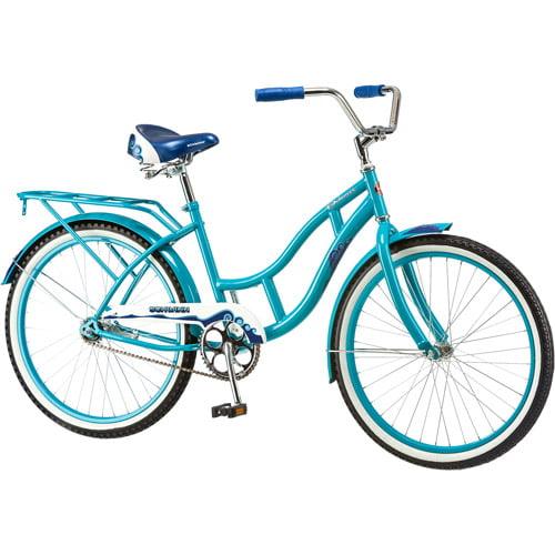 "24"" Schwinn Delmar Girls' Cruiser Bike, Aqua Blue"