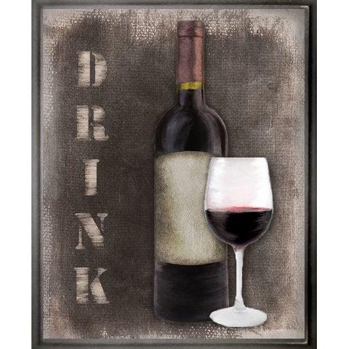 PTM Images Drink Gicl e Framed Graphic Art
