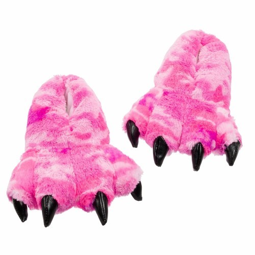 "Pink Camo Slippers 12"" by Wishpets - 55332"