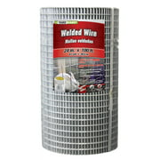 YARDGARD 24 inch by 100 foot 16 gauge 1/2 inch and 1 inch mesh galvanized welded wire